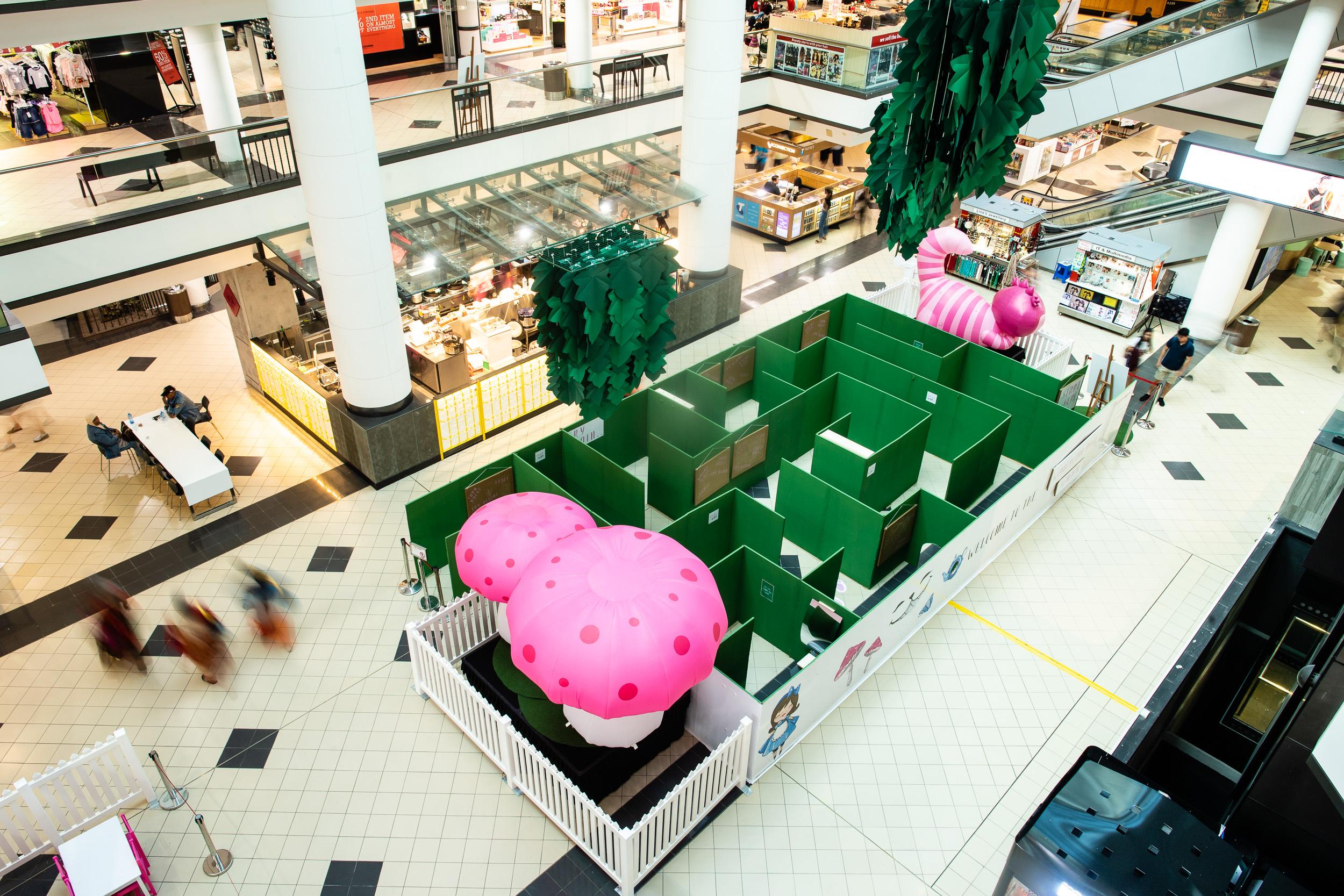One of a Kind: Market City's Custom-Built Maze, ENGAGE